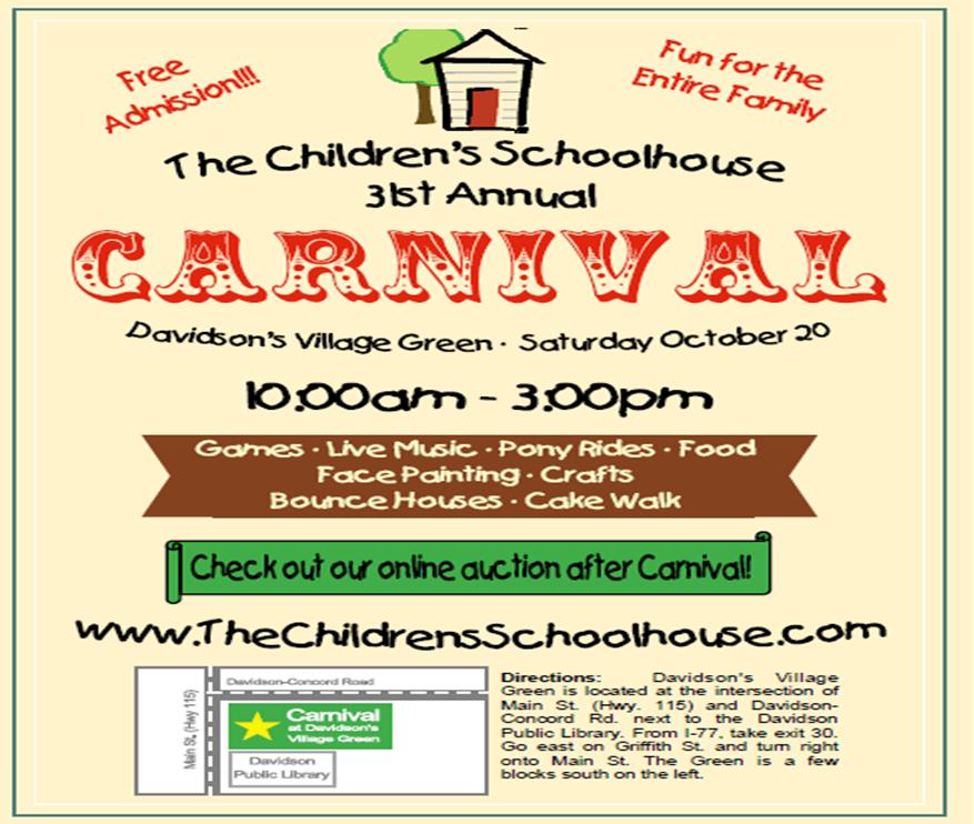 school carnival flyer template carnival on saturday