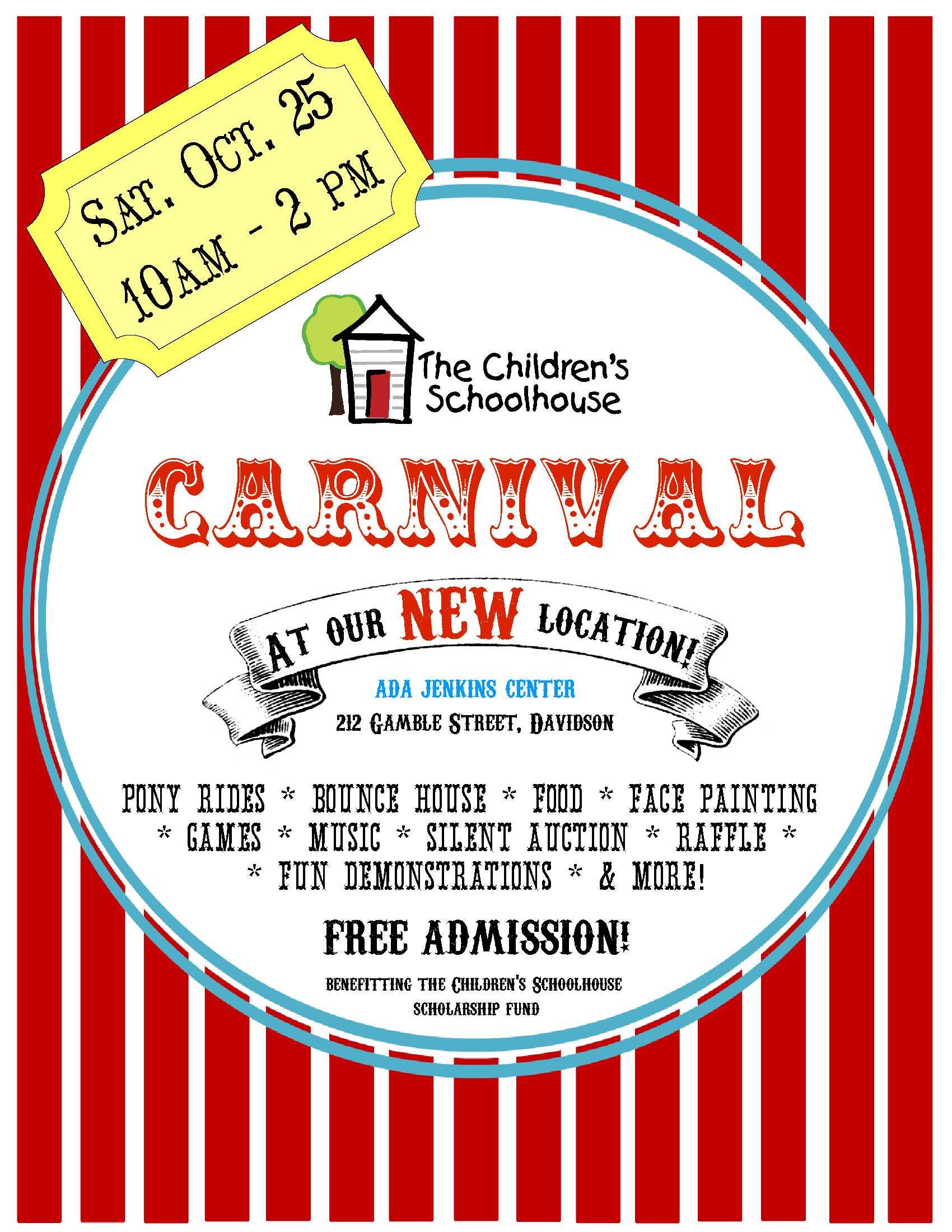 school carnival flyer carnival flyer final